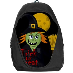 Halloween witch Backpack Bag