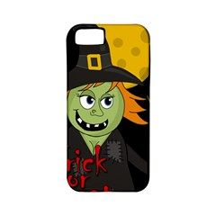 Halloween witch Apple iPhone 5 Classic Hardshell Case (PC+Silicone)