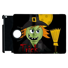 Halloween witch Apple iPad 3/4 Flip 360 Case