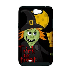Halloween witch Samsung Galaxy Note 2 Hardshell Case (PC+Silicone)