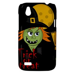 Halloween witch HTC Desire V (T328W) Hardshell Case