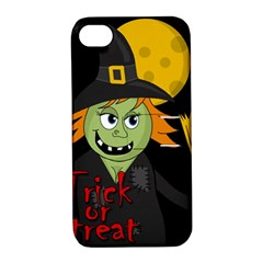 Halloween witch Apple iPhone 4/4S Hardshell Case with Stand
