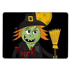 Halloween witch Samsung Galaxy Tab 10.1  P7500 Flip Case