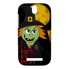 Halloween witch HTC One SV Hardshell Case