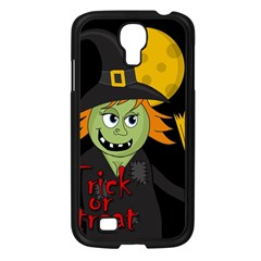 Halloween witch Samsung Galaxy S4 I9500/ I9505 Case (Black)