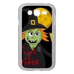 Halloween witch Samsung Galaxy Grand DUOS I9082 Case (White)