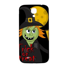Halloween witch Samsung Galaxy S4 I9500/I9505  Hardshell Back Case