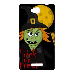 Halloween witch Sony Xperia C (S39H)