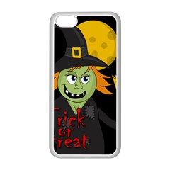 Halloween witch Apple iPhone 5C Seamless Case (White)