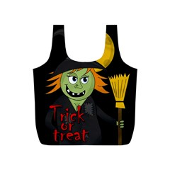 Halloween witch Full Print Recycle Bags (S)