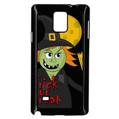 Halloween witch Samsung Galaxy Note 4 Case (Black)
