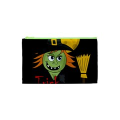 Halloween witch Cosmetic Bag (XS)