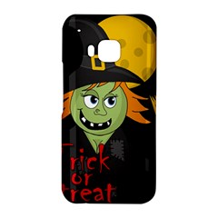 Halloween witch HTC One M9 Hardshell Case