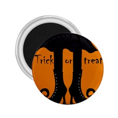 Halloween - witch boots 2.25  Magnets