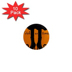 Halloween - witch boots 1  Mini Magnet (10 pack)