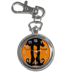 Halloween - witch boots Key Chain Watches