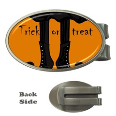 Halloween - witch boots Money Clips (Oval)