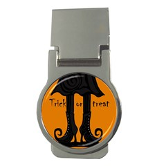 Halloween - witch boots Money Clips (Round)