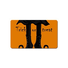 Halloween - witch boots Magnet (Name Card)
