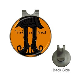Halloween - witch boots Hat Clips with Golf Markers