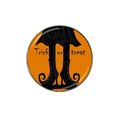 Halloween - witch boots Hat Clip Ball Marker (4 pack)