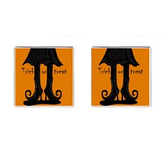 Halloween - witch boots Cufflinks (Square)