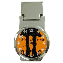 Halloween - witch boots Money Clip Watches