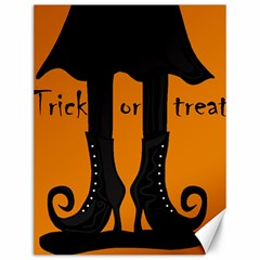 Halloween - witch boots Canvas 12  x 16