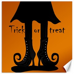 Halloween - witch boots Canvas 16  x 16