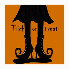 Halloween - witch boots Medium Glasses Cloth