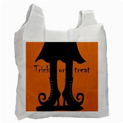 Halloween - witch boots Recycle Bag (Two Side)