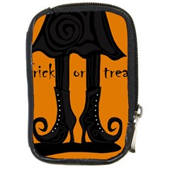 Halloween - witch boots Compact Camera Cases