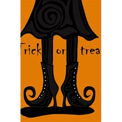Halloween - witch boots 5.5  x 8.5  Notebooks