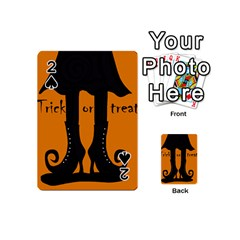 Halloween - witch boots Playing Cards 54 (Mini)