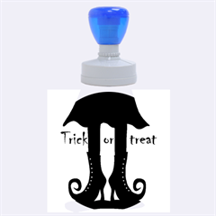 Halloween   Witch Boots Rubber Round Stamps (large)