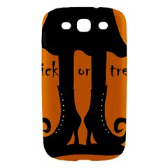 Halloween - witch boots Samsung Galaxy S III Hardshell Case