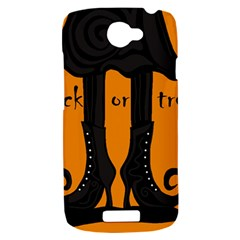 Halloween - witch boots HTC One S Hardshell Case