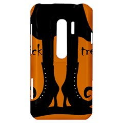 Halloween - witch boots HTC Evo 3D Hardshell Case