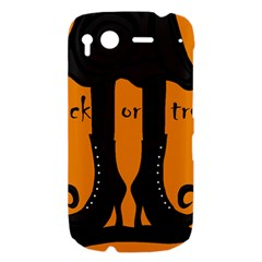 Halloween - witch boots HTC Desire S Hardshell Case