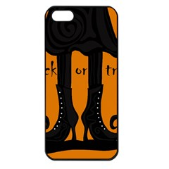 Halloween - witch boots Apple iPhone 5 Seamless Case (Black)