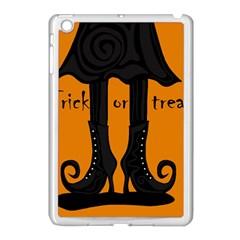 Halloween - witch boots Apple iPad Mini Case (White)