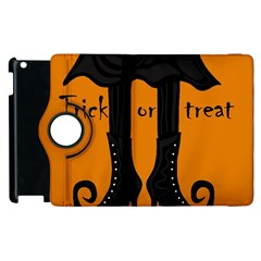 Halloween - witch boots Apple iPad 3/4 Flip 360 Case