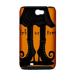 Halloween - witch boots Samsung Galaxy Note 2 Hardshell Case (PC+Silicone)