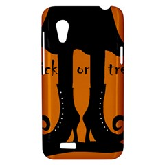 Halloween - witch boots HTC Desire VT (T328T) Hardshell Case