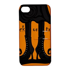 Halloween - witch boots Apple iPhone 4/4S Hardshell Case with Stand