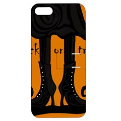 Halloween - witch boots Apple iPhone 5 Hardshell Case with Stand