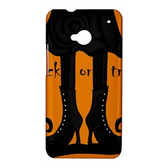 Halloween - witch boots HTC One M7 Hardshell Case