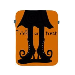 Halloween - witch boots Apple iPad 2/3/4 Protective Soft Cases