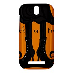 Halloween - witch boots HTC One SV Hardshell Case