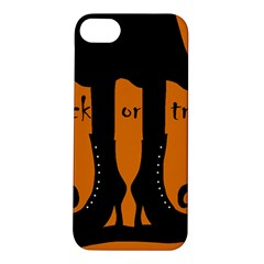 Halloween - witch boots Apple iPhone 5S/ SE Hardshell Case